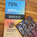 #3: Mason & Co. 75% Dark Bittersweet Chocolate Bar, 70G