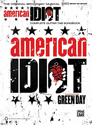 Green Day - American Idiot, the Musical: The Original Broadway Musical (Guitar Tab)