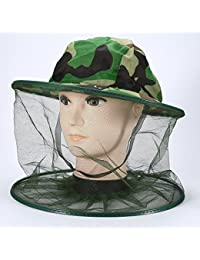 SINOTECH Premium Mosquito Head net  anti-mosquito Bee Bug Insect Fly Mask  cappello mimetico 269b0d22a5c3
