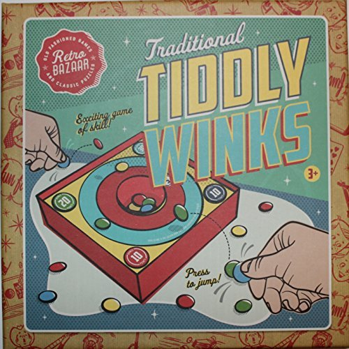 Traditional Tiddly Winks Family Game