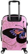 "Tramp & Badger Polycarbonate 24"" Multicolor Hard Sided Children's Luggage"