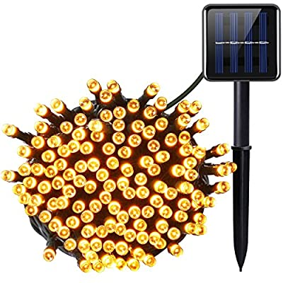 Solar Powered LED String Lights - low-cost UK light store.
