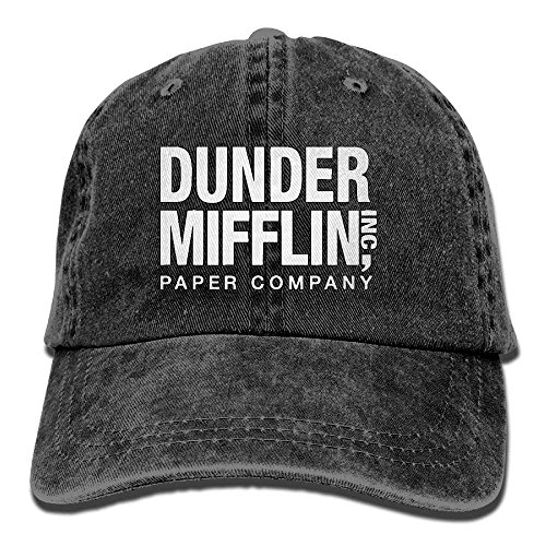 Stetson Hat Company (Baseball Cap for Men and Women, Dunder Mifflin Paper Company Design and Adjustable Back Closure Dad Hat)