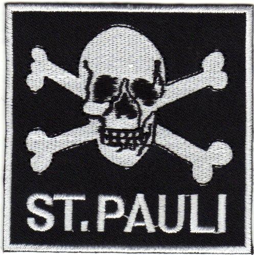 Preisvergleich Produktbild Aufnäher Bügelbild Applikation Iron on Patches ST. Pauli Hamburg Szene
