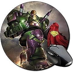 Lex Luthor Dc Universe Online Superman Alfombrilla Redonda Round Mousepad PC
