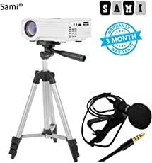 Sami Tripod - 3110 Portable and Foldable Camera with Microphone Mini Hands-free Clip on Lapel Mic