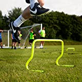 FORZA Speed / Agility Training Hurdles [Pack of 6] - Choose Your Size! [Net World Sports] (6 Hurdles)