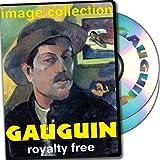 Gauguin, más de 100 de alta resolución de imágenes digitales, libres de derechos de DVD Biblioteca