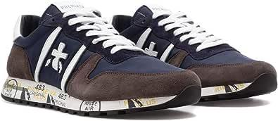 PREMIATA Sneaker Uomo Modello Eric Blu/Marrone ERIC5175