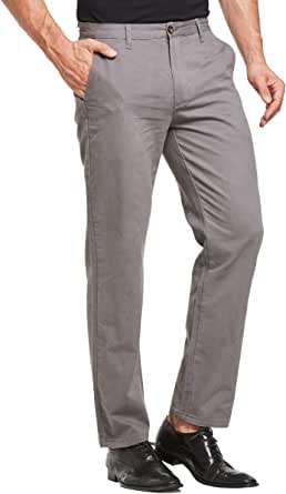 Tansozer Chino Trousers for Men Smart Casual Pants Regular Fit