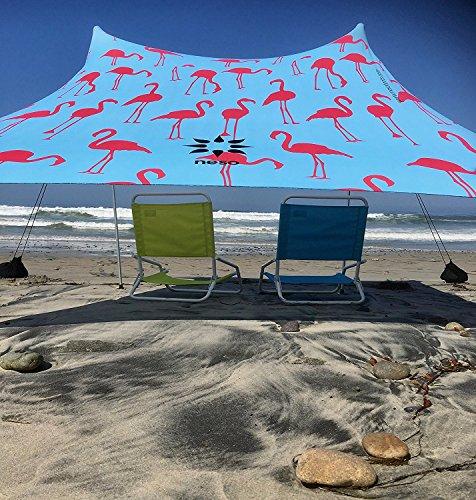 Tienda de campaña Neso Tents Beach con ancla de...