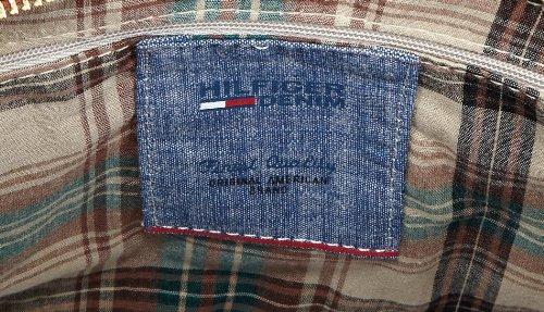 Hilfiger Denim LORI SATCHEL, sacs à main Marron - Braun (COGNAC 606)