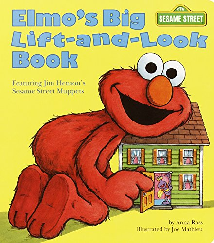 Elmo's Big Lift-and-Look Book: Sesame Street (Great Big Board Book)