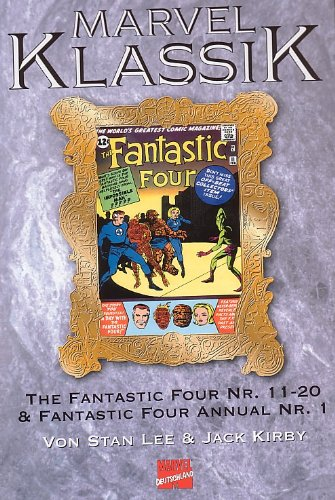 MARVEL KLASSIK Hardcover Bd. 8,  FANTASTIC FOUR  Hefte 11-20, (Reprint der Original-US-Comicserie)