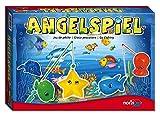 Noris Spiele 606049103 - Angelspiel mit 4 Angeln, Kinderspiel