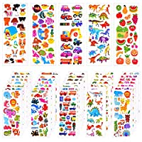 TUPARKA 3D Stickers for Kids,Craft Stickers 1000+ Puffy Stickers Scrapbooking Bullet Journals