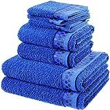 Bale Juego de toallas 100% algodón egipcio toalla de Bale (7piezas, la calidad suprema * * Plus de tela.