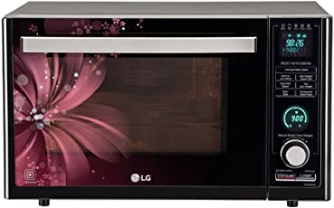 LG 32 L Convection Microwave Oven (MJ3286BRUS, Black)