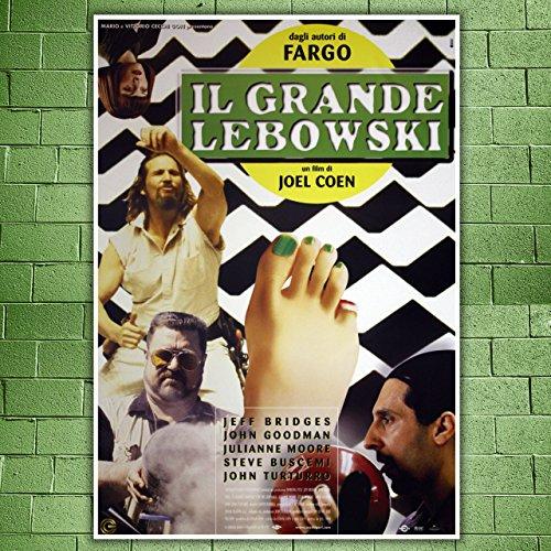Movie Poster Il Grande Lebowski- The Big Leboeski - Size:70x100 CM