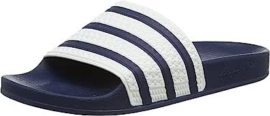 adidas Adilette Ciabatte, Blu (Adiblue G1/White/Adiblue G1), 36 2/3 EU (4 UK), Unisex – Adulto