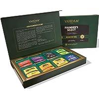 VAHDAM, Assortimento di Tè in Bustina per la Festa della Mamma - 8 Gusti, 40 Bustine | Tè Nero, Tè Verde, Tè Oolong, Tè…