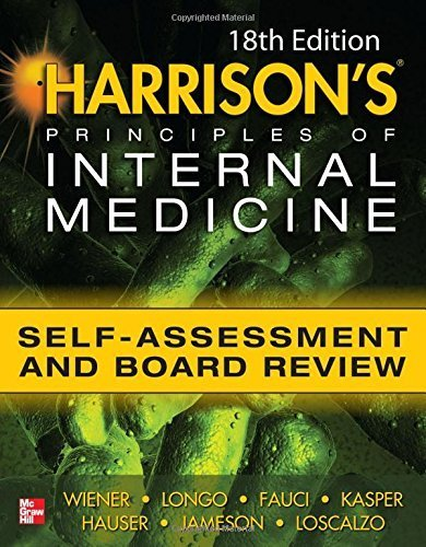 Harrisons Principles of Internal Medicine Self-Assessment and Board Review 18th Edition by Charles Wiener (2012-08-01)