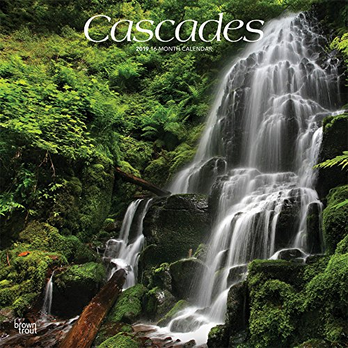 Cascades - Kaskaden/Wasserfälle 2019 - 18-Monatskalender: Original BrownTrout-Kalender [Mehrsprachig] [Kalender] por Browntrout Publishers