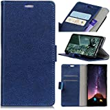 Nokia 8 Case, Codream Nokia 8 Protective Skin Folio Flip Cover Phone Case Slim Slim Shell For Nokia 8 (Blue)