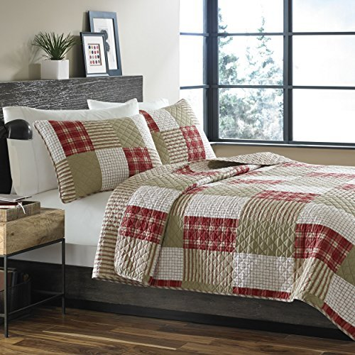 Eddie Bauer Cotton Quilt Set, Camino Island, Twin by Eddie Bauer