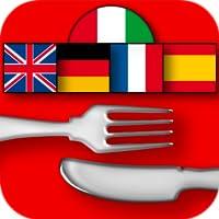 Gastronomic Dictionary in 5 languages - Hoepli