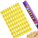 Emporte piece Alphabet et Chiffre, XCOZU Emporte piece Lettre Tampon Patisserie, Lettre pate a Sucre/Lettre Cookies Stamp pou