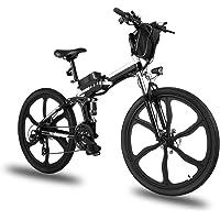 Elektrofahrrad E-Bike Klapprad, 26 Zoll Ebike Herren 250W Elektrisches Fahrrad Mit Herausnehmbarer 8Ah Batterie, Shimano…