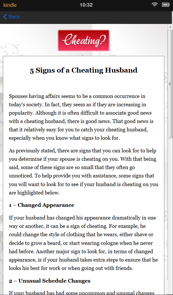 How to find out if a spouse is cheating