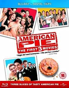 American Pie 1 - 3 Box Set [Blu-ray] [Region Free]