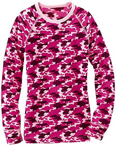 Crew Kids Kleidung (Odlo Kinder Longsleeve Crew Neck Warm Trend Kids Sport Unterhemd Mädchen (164))