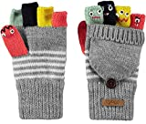 Barts Kinder Handschuhe Mädchen Puppet Bumgloves Size 4 (6-8 Yrs) - Farbauswahl: Farbe: Hellgrau