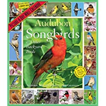 Audubon Songbirds & Other Backyard Birds 2018 Calendar
