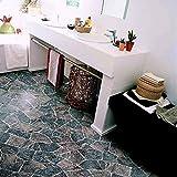 livingfloor® PVC Bodenbelag Bruchstein Granit Grau 2m Breite, Länge variabel Meterware, Größe:1 Muster / Sample