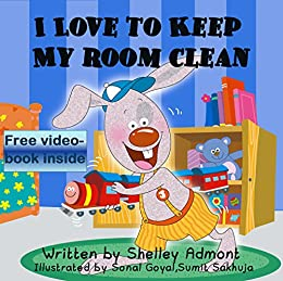 Libro PDF Gratis I LOVE TO KEEP MY ROOM CLEAN (I Love to...Bedtime stories children's books collection Book 5)