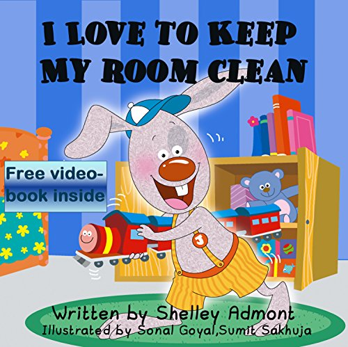 free kindle book I LOVE TO KEEP MY ROOM CLEAN (I Love to...Bedtime stories children's books collection Book 5)
