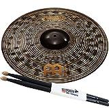 Meinl Classics Custom Dark CC20DAR 20 Ride Becken + KEEPDRUM Drumsticks 5BB