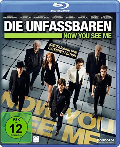 Die Unfassbaren - Now You See Me [Blu-ray]