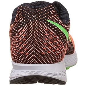 Nike Air Zoom Elite 8 - para Hombre, ttl orng/blk-ghst grn-vltg grn, Talla 41