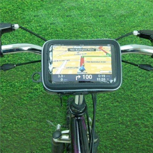 6inch Extra Breitbildschirm GPS Satellitennavigation Riemen Fahrrad Rad Lenkerhalterung (SKU 16406)
