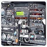 Rikki Knight Flight Flugzeug cockpit-single Toggle Lampe Switch Plate
