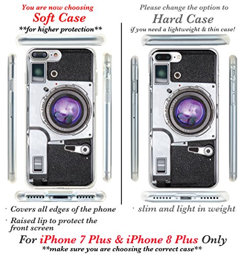 iPhone 7custodia, Casesbylorraine carino modello custodia rigida in plastica per Apple iPhone 7, I33, iPhone 7 Plus Hard Case A96