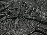 152,4cm breit Crushed Velours Kleid Stoff, Meterware,