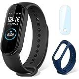 Xiaomi Mi Band 5, slimme armband, fitnesstracker, hartslagmeter, smartwatch met 1,1-inch AMOLED-kleurenscherm, sporthorloge m