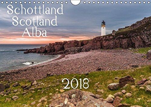 Schottland - Scotland - Alba (Wandkalender 2018 DIN A4 quer): 13 brillante Bilder zeigen Schottlands faszinierende Landschaft auf beeindruckende Weise. (Monatskalender, 14 Seiten ) (CALVENDO Orte) -