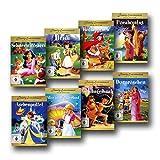 8 Märchen- und Film-Klassiker für die Kleinsten - DVD-Set - Aschenputtel / Dornröschen / Rotkäppchen / Schneewittchen / Heidi / Alice im Wunderland / Pocahontas / Das Dschungelbuch [8 DVDs] - Zeichentrick